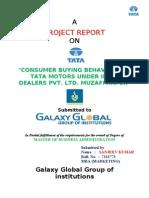 Project Report onTata Motors Consumer Behaviour