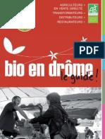 Producteur bio de la Drôme 2010-2011