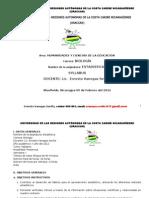 Syllabus de Estadistica en Biología.2012