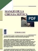 Manejo de La Cirugia Septica