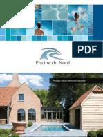 Piscine Du Nord Brochure et catalogue commercial - Piscines