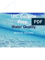 water quality powerpoint
