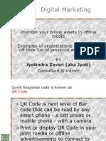 QR Code and Social media