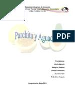 Parchita y Aguacate Trabajo Listo