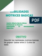 Habilidades Motrices Basicas Batear- Golpear