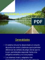 9. Tolerancia Autoinmunidad 2012. (Dr. Alvizuri).