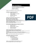 Programa 2009 Investigación I
