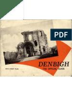 Denbigh the Official Guide 1931
