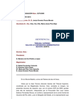 Sentencia contra el pantano de Mularroya. Tribunal Supremo 2013