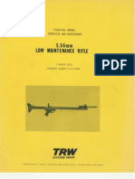 5.56 Mm Low Maintenance Rifle USA 1973