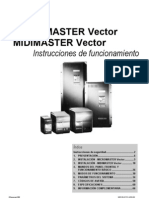 Micromaster manual Español Vector