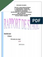 Rapport Du Stage2 de Faikal
