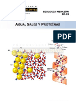 Agua, Sales y Proteinas