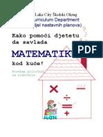 Math Brochure Bosnian