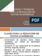 Modelos y Tecnicas de Redaccion de Textos Academicos