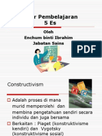 kitar pembelajaran 5E