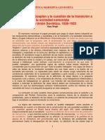 Singh - El PCUS, el Gosplan y la Cuestión de la Transición a la Sociedad Comunista en la Unión Soviética, 1939-1953 (1996)