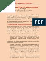 Bland - PCUS, ¿Revisionista Sólo desde 1985? Carta Abierta al 'Nuevo Partido Comunista' (1991)