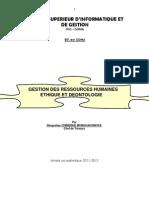 Cours de Gestion Des Ressources Humaines2012031513mar15