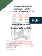 Manual do usuário_AQCADMIN
