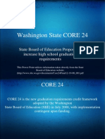 Washington State CORE 24