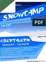 Flyer Snowcamp Obertauern - Skiclub Friedberg