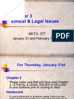 Chap. 3 - Ethical & Legal Issues 1-31 and 2 07 13