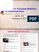 Chap. 4 - Purchase Behavior 2-14-13