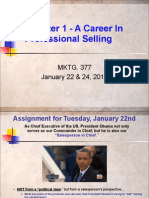 Chapter 1 - Career in Professional Selling 1-22 and 24-13