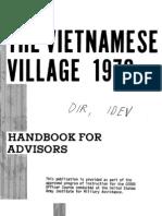 Vietnamese Village Handbook -For Advisors