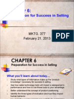 Chapter 6 Preparation for Success 02-21-13(1)