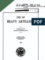 Use of Heavy Artillery