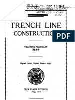 Trench Line Construction