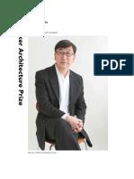 Pritzker Prize Photo Booklet Toyo Ito