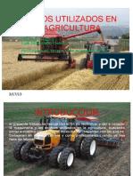 Equipos Utilizados en La Agricultura