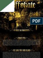 Digital Booklet - No Mercy, No Forgiveness