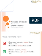 Moodle 2 Themes