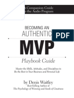 Becoming an Authentic MVP Playbook Guide