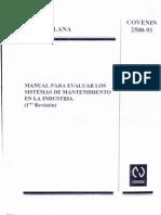 CONVENIN 2500-930001