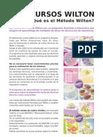 Informacion Cursos Wilton