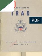 Iraq Cultural Guide