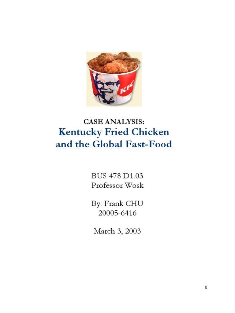 kfc case analysis 1 identify several specific stakeholder groups in the case study and discuss their relevance according to the stakeholder model, which of.