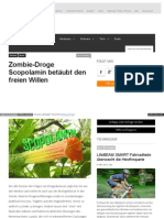 Drogen - Zombie-Droge Scopolamin betäubt den freien Willen - weblogit_net_2012