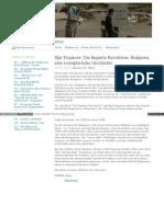 Mafia Aus Ehemaligen Geheimdienstlern - Ilija Trojanow - Die Fingierte Revolution - Bulgarien, Eine Exemplarische Geschichte - Stolipinovo
