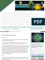 Strahlenfolter - Alle Artikel Aus Dem Monat Dezember 2012 - Wissenschaft3000