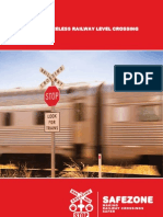 Safezone Rail Crossing Solutions Brochure Feb 2011