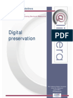 Digital PreservationCALIMERA