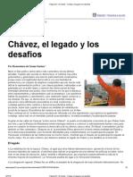 08-03-13 Chávez, el legado y los desafíos