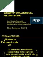 CONCEPTO Y EVOLUCIÓN DE LA PSICOMOTRICIDAD