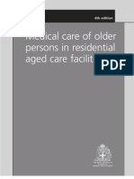 Medical Care of Older Persons in Residential Aged Care Facilities